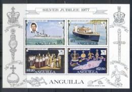 Anguilla 1977 QEII Silver Jubilee MS MUH - Anguilla (1968-...)