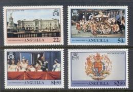 Anguilla 1978 QEII Coronation 25th Anniversary MUH - Anguilla (1968-...)