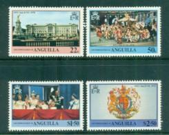 Anguilla 1978 QEII Coronation, 25th Anniversary, Royalty MUH - Anguilla (1968-...)