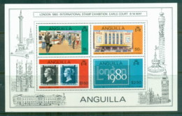 Anguilla 1980 London '80 Stamp Ex MS MUH - Anguilla (1968-...)
