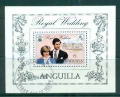 Anguilla 1981 Charles & Diana Wedding MS FU Lot44757 - Anguilla (1968-...)