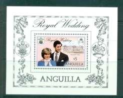 Anguilla 1981 Charles & Diana Wedding MS MUH Lot44756 - Anguilla (1968-...)