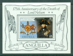 Anguilla 1981 Lord Horatio Nelson MS MUH - Anguilla (1968-...)