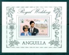 Anguilla 1981 Royal Wedding, Charles & Diana MS MUH - Anguilla (1968-...)