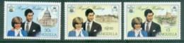 Anguilla 1981 Royal Wedding, Charles & Diana MUH - Anguilla (1968-...)