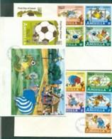 Anguilla 1982 Disney, Bedknobs & Broomsticks, Espana '82 3x FDC Lot78923 - Anguilla (1968-...)