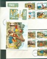 Anguilla 1982 Disney, Winnie The Pooh 3x FDC Lot78921 - Anguilla (1968-...)