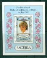 Anguilla 1982 Princess Diana 21st Birthday MS MUH Lot81983 - Anguilla (1968-...)