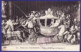 Chateau De La Malmaison Gravure Animation  Voiture De Mariage De Napoleon (Très Très Bon état)é251) - History