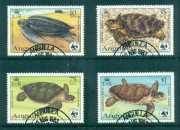 Anguilla 1983 WWF, Turtles FU - Anguilla (1968-...)