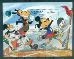 Anguilla 1984 Disney, Mickey Mouse, Decathlon MS MUH Lot77470 - Anguilla (1968-...)