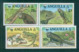 Anguilla 1997 WWF Iguana Pairs MUH Lot64004 - Anguilla (1968-...)