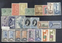 Bahamas 1930's On Assorted Oddments (faults) MLH/FU - Bahamas (1973-...)