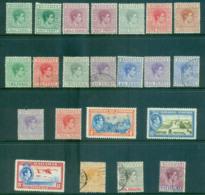 Bahamas 1938-46 KGVI Definitives Asst To 5/- MLH/FU Lot55182 - Bahamas (1973-...)