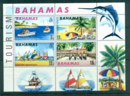 Bahamas 1969 Tourist Publicity MS MUH - Bahamas (1973-...)