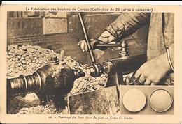 La Fabrication Des Boutons De Corozo Industrie Boutonnière 51 Avenue De L'Echo St Maur Des Fossés - Saint Maur Des Fosses