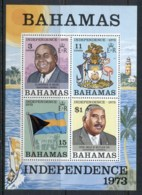 Bahamas 1973 Independence MS MUH - Bahamas (1973-...)