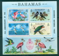 Bahamas 1974 National Trust Protected Birds MS MUH - Bahamas (1973-...)