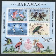Bahamas 1974 Protected Birds MS MUH - Bahamas (1973-...)
