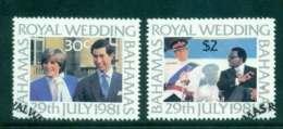 Bahamas 1981 Charles & Diana Wedding FU Lot44777 - Bahamas (1973-...)