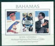 Bahamas 1981 Charles & Diana Wedding MS FU Lot44816 - Bahamas (1973-...)
