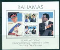 Bahamas 1981 Charles & Diana Wedding MS MUH Lot44779 - Bahamas (1973-...)