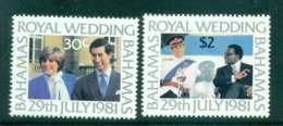 Bahamas 1981 Charles & Diana Wedding MUH Lot44776 - Bahamas (1973-...)