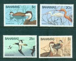 Bahamas 1981 Water Fowl Birds Str 5 MUH Lot55079 - Bahamas (1973-...)