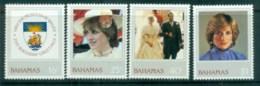 Bahamas 1982 Princess Diana 21st Birthday MLH Lot81961 - Bahamas (1973-...)