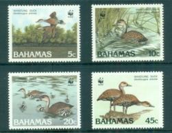 Bahamas 1988 WWF, Birds, Ducks MUH - Bahamas (1973-...)