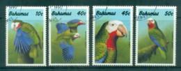 Bahamas 1990 Birds, Bahamanian Parrot CTO - Bahamas (1973-...)