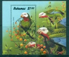 Bahamas 1990 Birds, Bahamanian Parrot MS CTO - Bahamas (1973-...)
