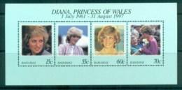 Bahamas 1998 Princess Diana In Memoriam MS MUH Lot81808 - Bahamas (1973-...)