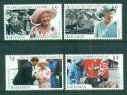 Bahamas 1999 Queen Mother's Century, Royalty MUH - Bahamas (1973-...)