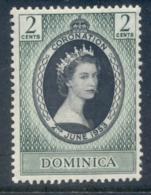 Dominica 1953 Coronation MLH - Dominica (1978-...)