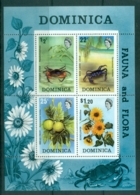 Dominica 1973 Flora & Fauna MS MUH - Dominica (1978-...)