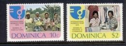 Dominica 1975 IWY Intl. Women's Year MUH - Dominica (1978-...)