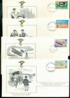 Dominica 1978 History Of Aviation, FAI 4xFDC Lot79558 - Dominica (1978-...)