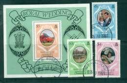 Dominica 1981 Charles & Diana Wedding + MS MUH Lot44935 - Dominica (1978-...)