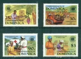 Dominica 1983 Commonwealth Day MUH - Dominica (1978-...)