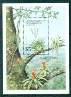 Dominica 1984 AUSIPEX Flowers, Bromeliad MS MUH - Dominica (1978-...)