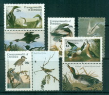 Dominica 1986 Audubon Birds MUH - Dominica (1978-...)