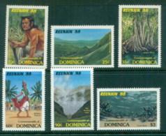 Dominica 1988 Reunion '88 Tourism Campaign MUH - Dominica (1978-...)