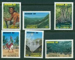Dominica 1988 Tourism MUH Lot20975 - Dominica (1978-...)