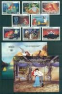 Dominica 1991 Disney,The Little Mermaid +2x MS MUH Lot80039 - Dominica (1978-...)