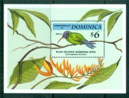Dominica 1994 Birds MS MUH - Dominica (1978-...)