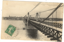 49 -   INGRANDES - Le Pont Suspendu Sur La Loire  144 - France
