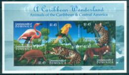 Dominica 2000 Wildlife $1.45 MS MUH - Dominica (1978-...)