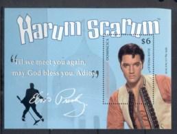 Dominica 2010 Elvis Presley 75th Birthday, Harum Scarum MS MUH - Dominica (1978-...)