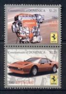 Dominica 2010 Ferrari Pr MUH - Dominica (1978-...)